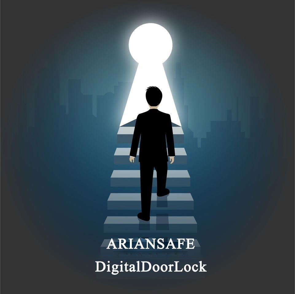 قفل دیجیتال درب آپارتمان