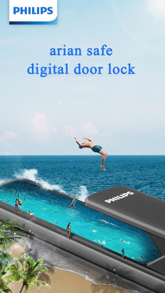 قفل هوشمند درب آپارتمان