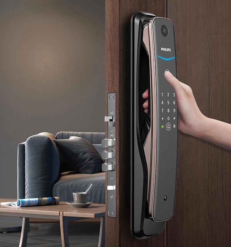 قفل دیجیتال درب ورودی